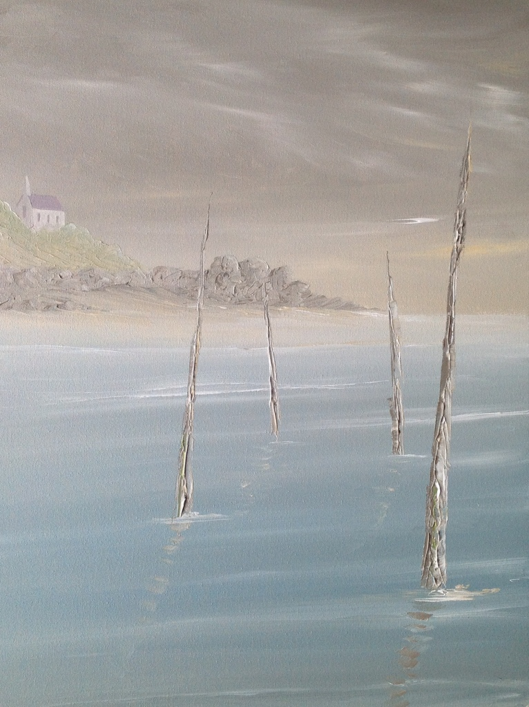 Watch Out for the Oyster Beds, Pors Even Ref 4/14 image size 50cm x 70cm