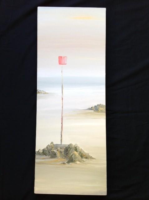 Near Locquirec, Brittany image size 81cm x 30cm Ref 17/13