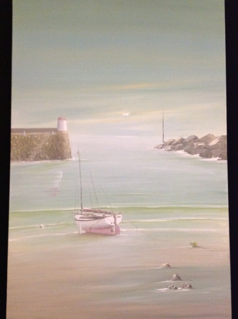 Waiting for the Tide Ref 100/13 size 90cm x 60cm