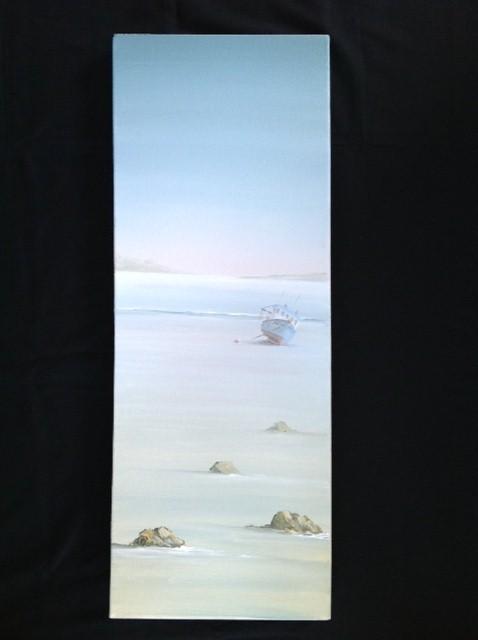 Near Padstow image size 80cm x 30cm Ref 57/13