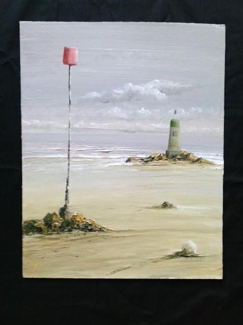 Near Locquirec, Brittany image size 40cn x 50cm Ref 10/13