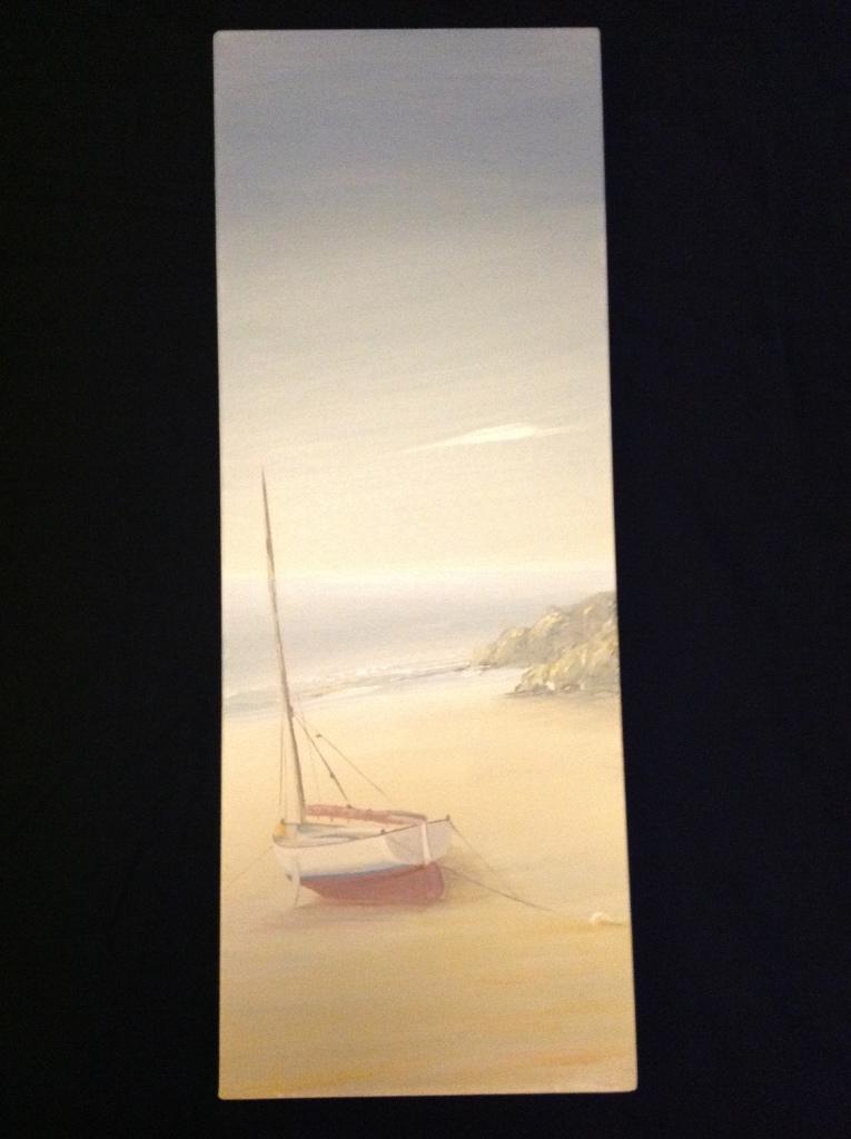 Watchtower Bay, Barry Ref 122/13 size 80cm x 30cm