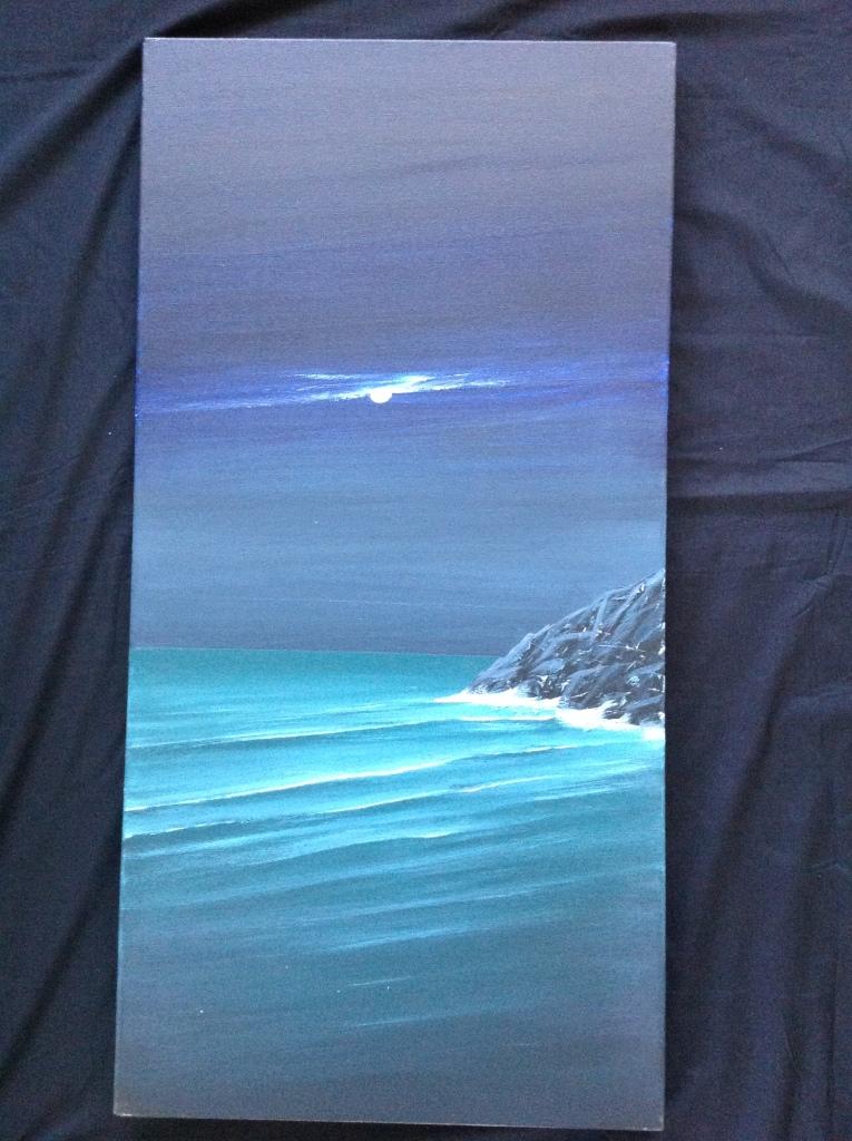 10 p.m. Near St Ives, Cornwall Ref 84/14 image size 100cm x 50cm