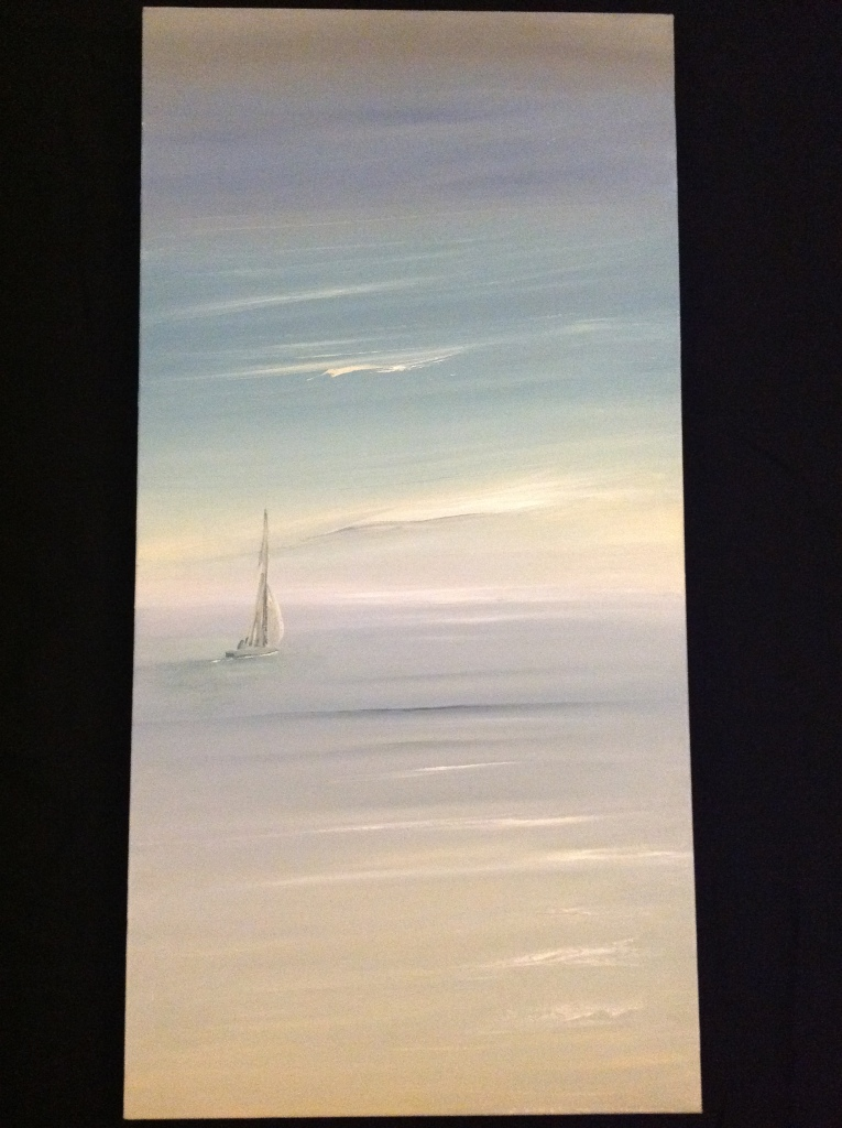 Gentle Breeze, Penarth Ref 126/13 size 100cm x 50cm