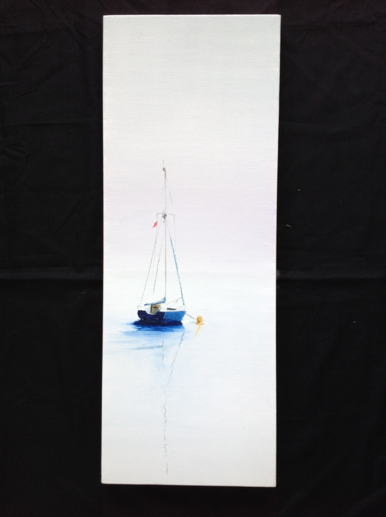 Tranquil Mooring Ref 13/15 image size 30cm x 80cm