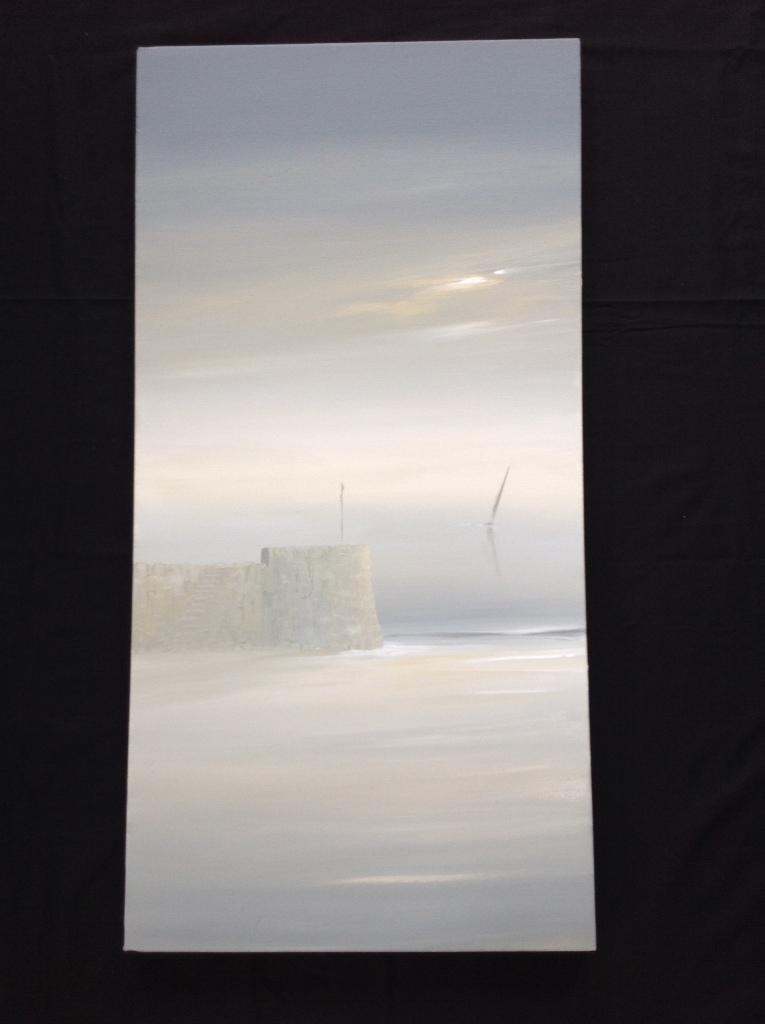 Gentle Breeze - Watchtower Bay, Barry Ref 73/14 image size 100cm x 50cm