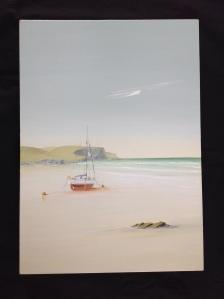 Calm Sea Mawgan Porth, Cornwall 59x70 69 15