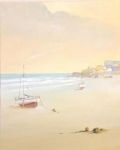 Evening Time Tenby, Pembs image size 50cm x 40cm Ref 97 15