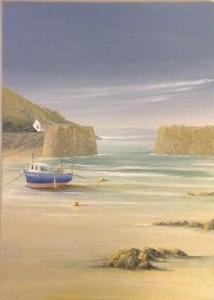 Porthgain Harbour, Pembs image size 70cm x 50cm Ref 44 15
