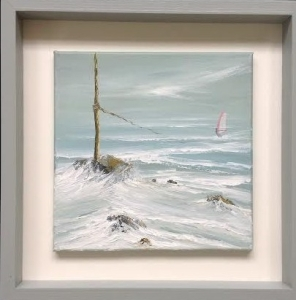 LE TEMPETE (STORM) PORS EVEN, BRITTANY REF 9 16 IMAGE SIZE 43X43