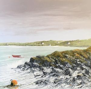 WHITE STRAND BEACH NR DERRYGIMLA S. IRELAND 50X50 83 17