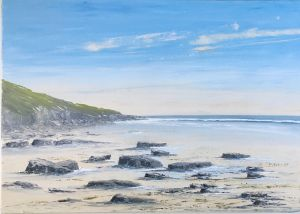 TIDE OUT, SOUTHERNDOWN 70X50 REF 89 17