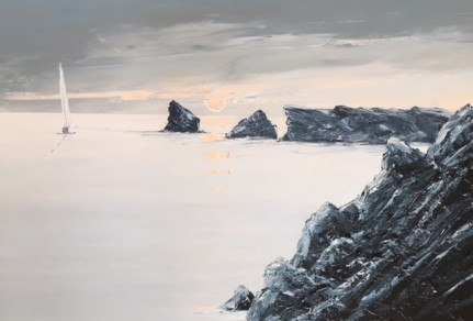 WARM EVENING WORMS HEAD GOWER REF 17 19 76X50