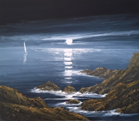 IN THE ROCKS NR STRUMBLE HEAD REF 43 19 70X60