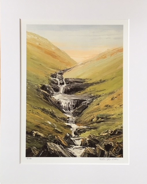 AFTER THE RAIN NEAR STOREY ARMS BRECON BEACONS PRINT 1