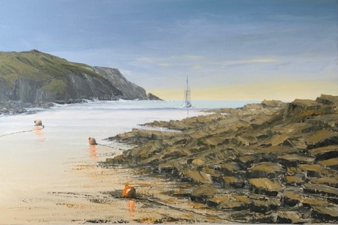 8A.M. ON A FRIDAY MORNING NOLTON HAVEN, PEMBS REF 7 20 90X60